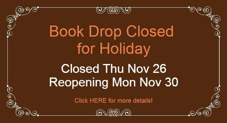 Book Drop Closed